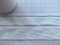 #029 White Velvet Ribbon