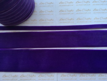 #465 Purple Velvet Ribbon