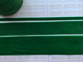 #580 Emerald Velvet Ribbon