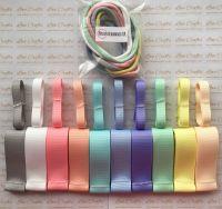 "3/8"" & 1"" Grosgrain Ribbon & Dainties Bundle 8"