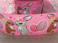 Bunnies Grosgrain Ribbon