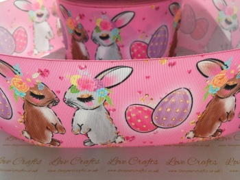 Bunnies Grosgrain Ribbon