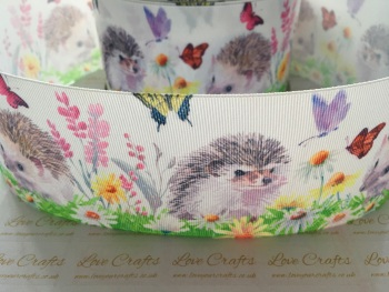 Hedgehog Grosgrain Ribbon