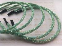 Aqua Glitter Headband