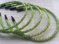Lime Glitter Headband