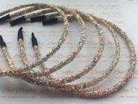 Multi 3 Glitter Headband