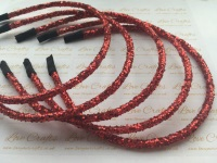 Red Glitter Headband
