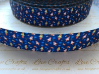 "1"" Rockets Grosgrain Ribbon"
