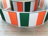 Flag - Ireland Grosgrain Ribbon