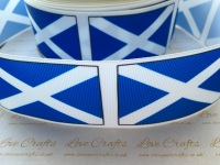 Flag - Scotland Grosgrain Ribbon