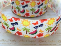 Summer Time Grosgrain Ribbon