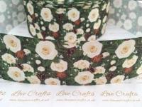 Alyssa Floral Grosgrain Ribbon