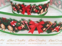 Christmas Bow Grosgrain Ribbon