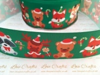 Christmas Cuties Grosgrain Ribbon