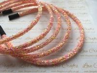 Pink Mix Glitter Headband