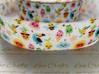 Tropical Summer Grosgrain Ribbon