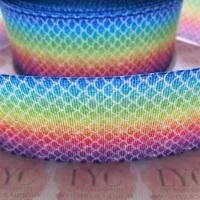 Rainbow Scale Grosgrain Ribbon