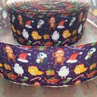 Christmas Animals Grosgrain Ribbon