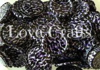 'Purple Leopard' Bottle Caps
