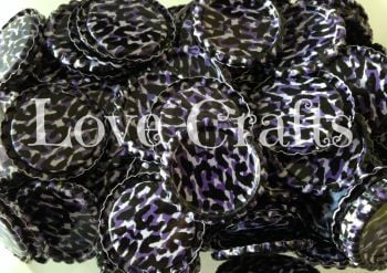 'Purple Leopard' Bottle Caps