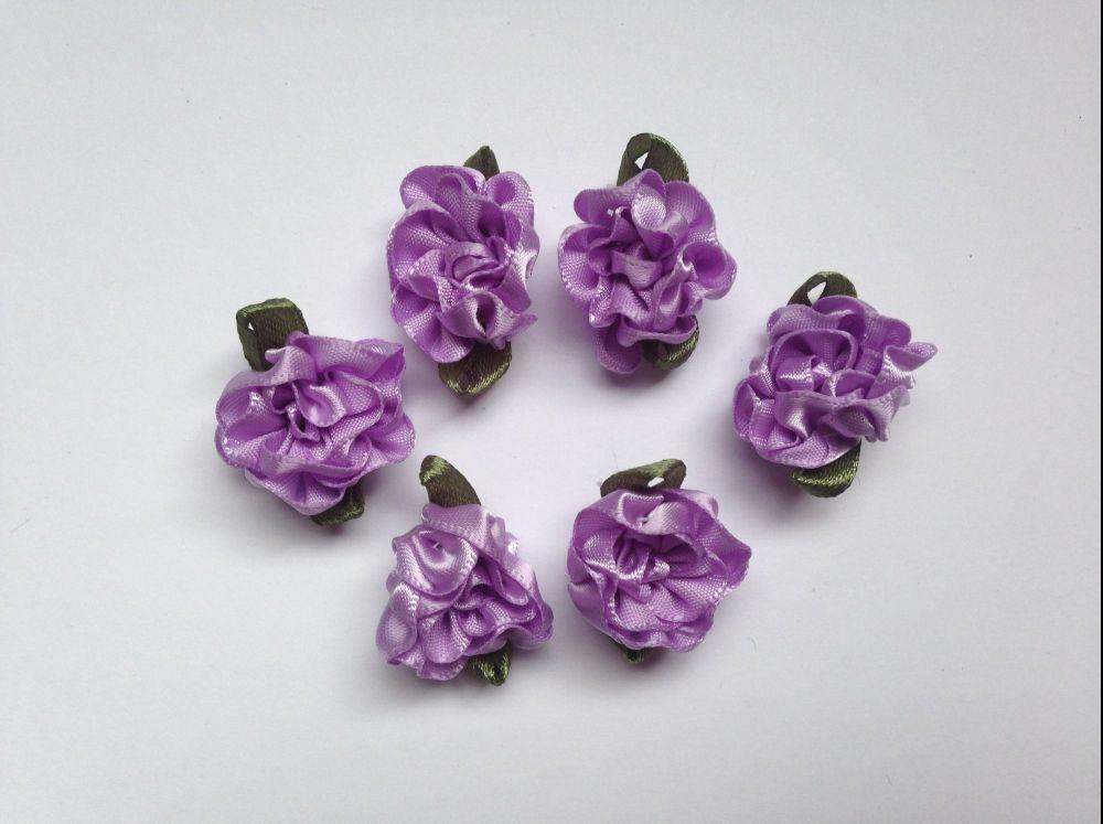 6 Purple Flowers