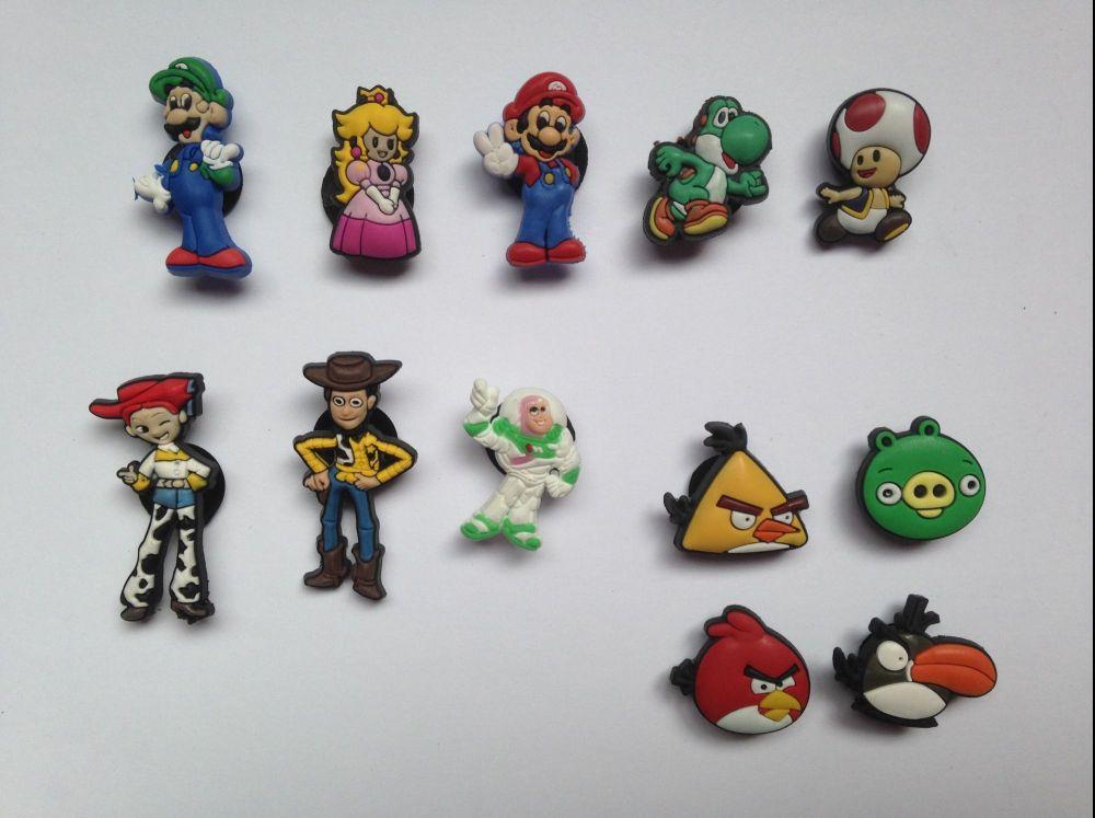 Mario, Toy Story & Angry Birds Jibbitz