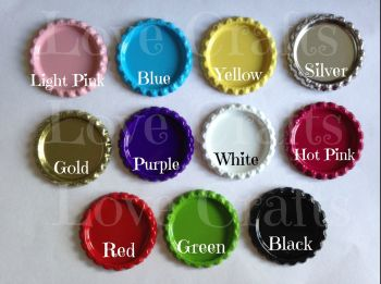 Bottle Caps - 11 Colours - You Choose