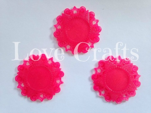 Hot Pink *Glow In The Dark* Resin Centre