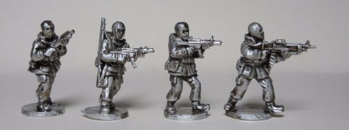 UKSF03 Cold War winter SAS with MP5SD, M79, Shotgun and GPMG