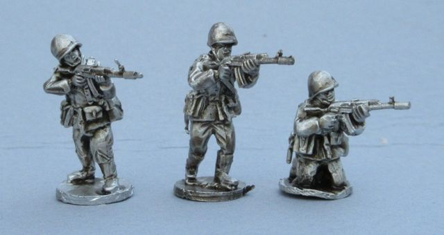 CWR20 (NEW) Soviet AK74 riflemen skirmishing set A