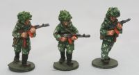 SCS03 Soviet Riflemen with camo suits with AK74 with foliage