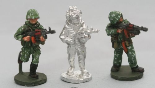 SCS05 Soviet Riflemen with camo suits with AK74and grenade launchers