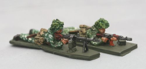 SCS11 Soviet in Camo PKM team prone