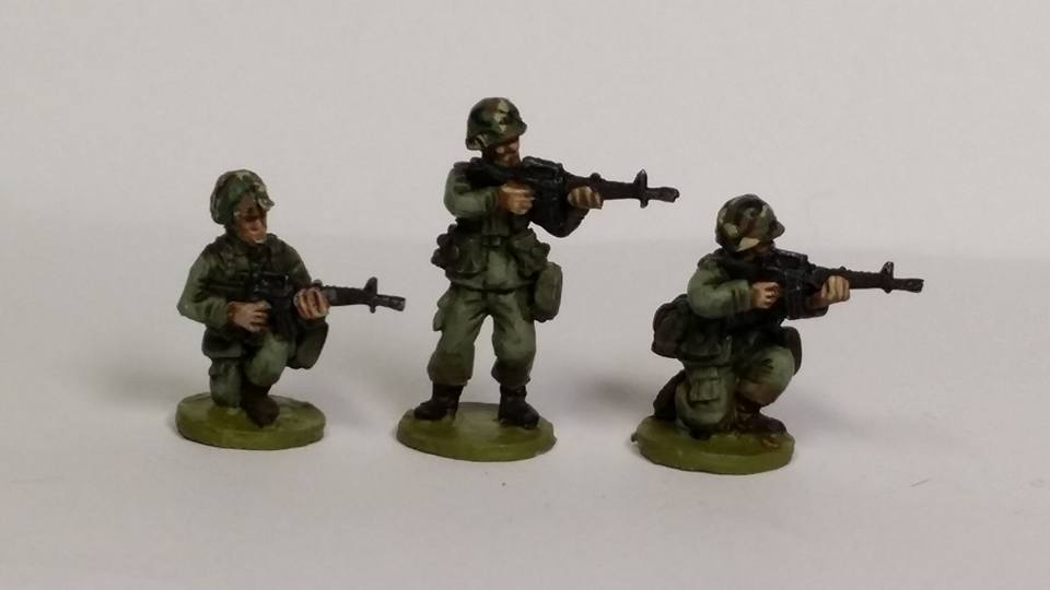 ALC03 1970's -80's Cold War US ARMY/USMC M16A1 Skirmishing