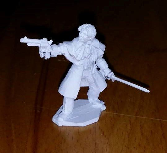 LTD19 32mm FIGURE. Victorian Gent Slayer of Monsters