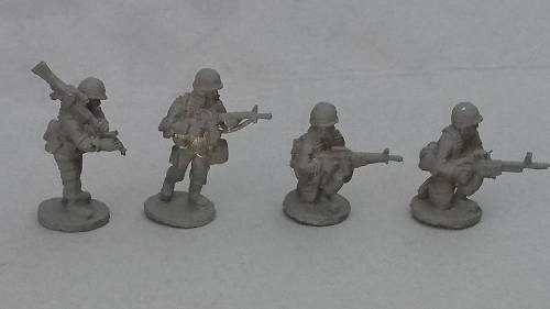 ALC06 1970's -80's Cold War US ARMY/USMC M60GPMG teams