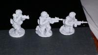PAS20 PASGT US ARMY/USMC Kneeling with M16A2M203, SAW and LAW72