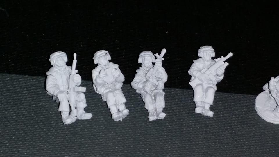 PAS21 PASGT US ARMY/USMC seated vehicle crew