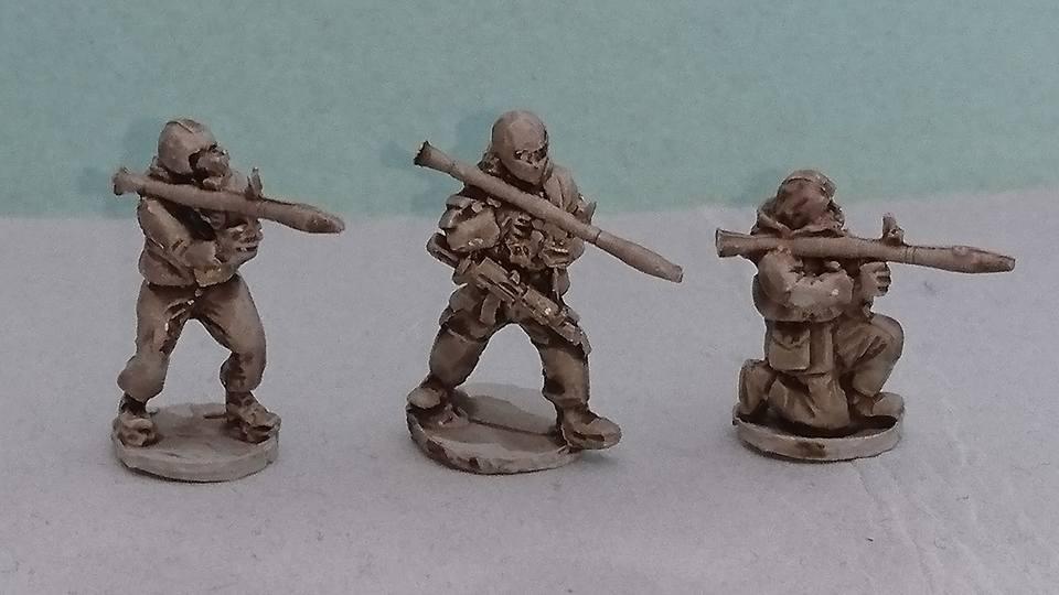 RUS08 Pro-Russian Milita/Russian SF teams with RPG7