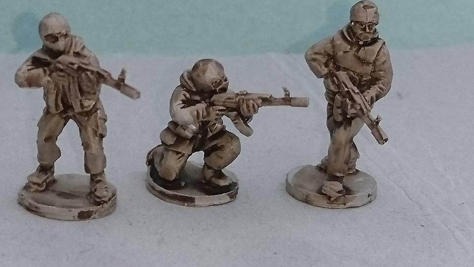 RUS09 Pro-Russian Milita/Russian SF teams with AK74