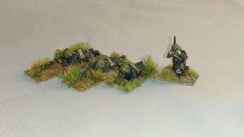 DAN04 WW2 Danish Infantry MADSEN team