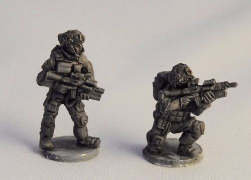 REF17 Ranger with Mk18 and Block 2 with M203 grenade launchers