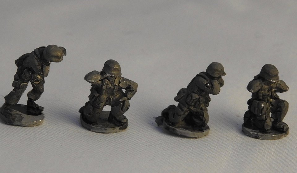 NAT10 NATO generic gun crews for MMGs, mortars, field guns etc