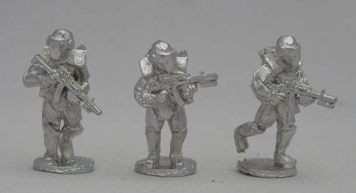 NUR01 Future Concept Russians in advanced body armour advance