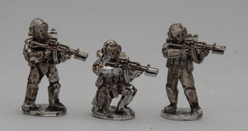 NUR02 Future Concept Russians in advanced body armour skirmish