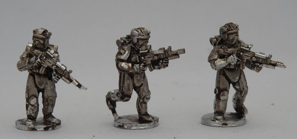 NUU01 Future Concept US Infantry Advancing