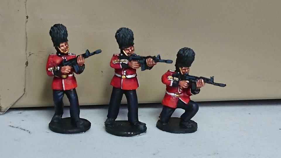 BGP01 Ceremonial Guards skirmishing