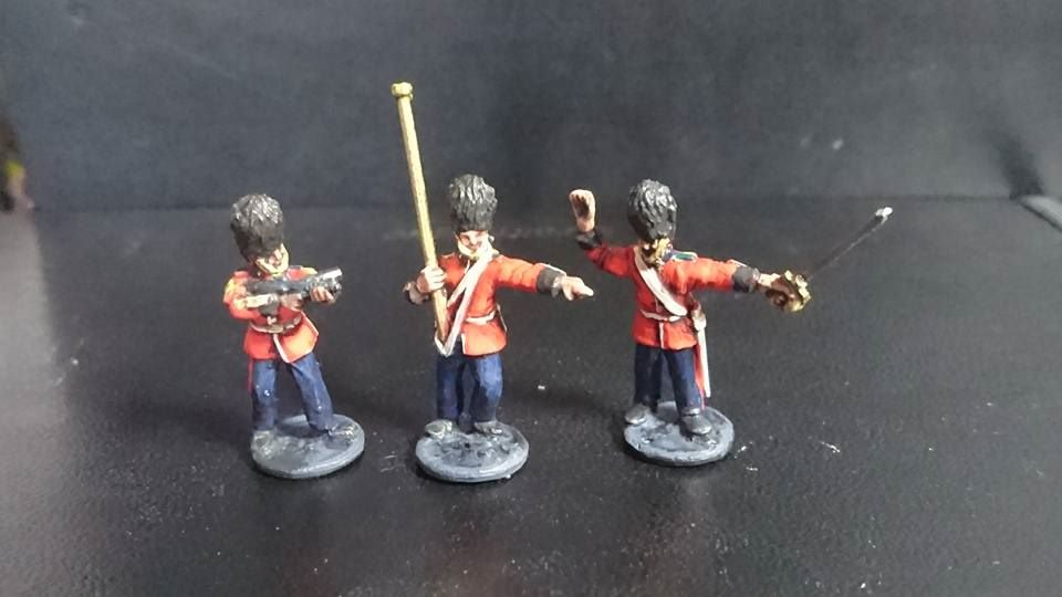 BGP02 Ceremonial Guards leaders skirmishing
