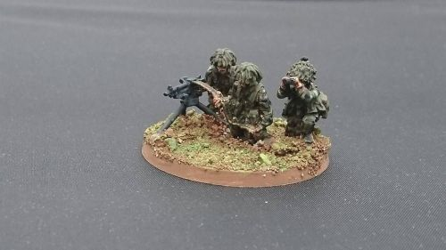 BAOR04 British GPMG Sustained Fire team