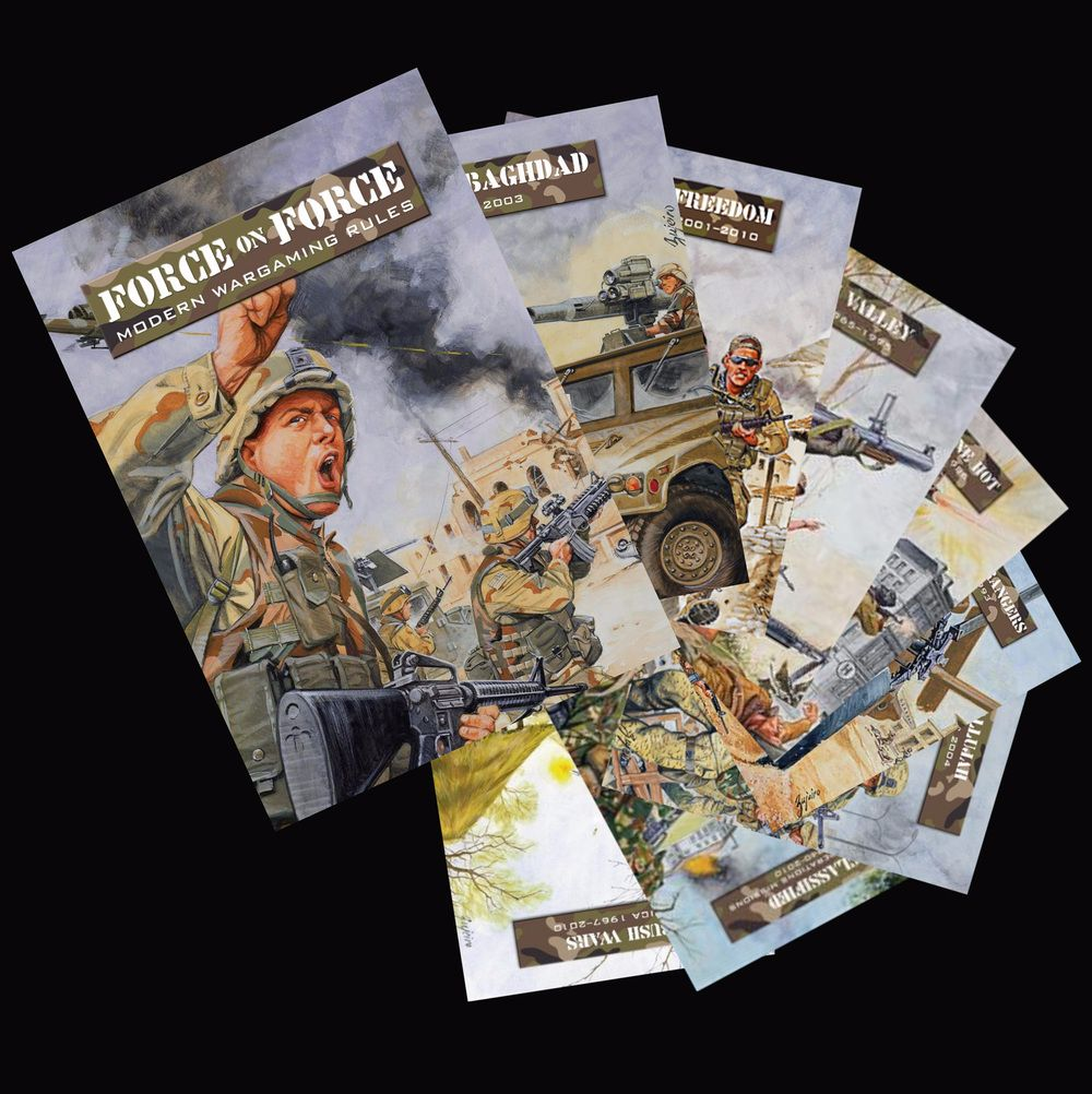 LINK TO AMBUSH ALLEY GAMES WEBSITE for PDF copies of Force on Force and oth